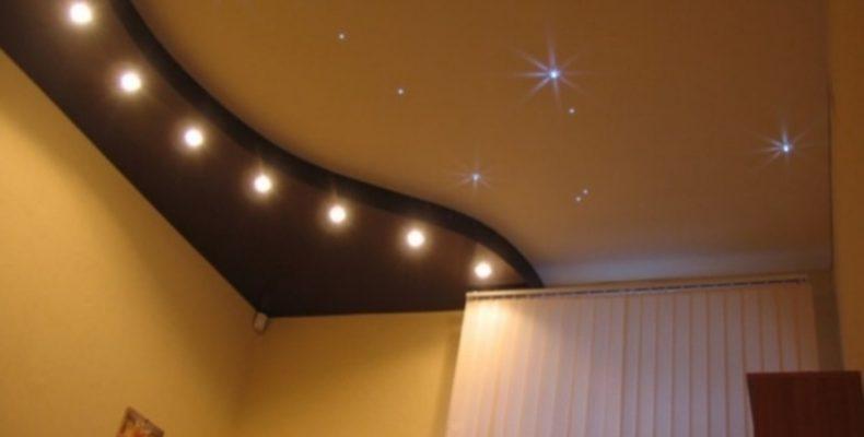 Отличительные особенности и свойства натяжных потолков