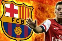 "Озил может оказаться в ""Барселоне"" ""Барселона"" заинтересована в"