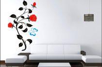 Наклейки и стикеры для стен офиса