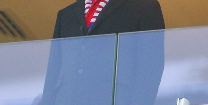 Министр спорта и президент РФС Виталий Мутко пообщался